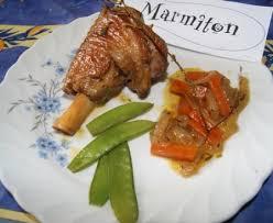 cuisiner souris d agneau au four souris d agneau confites et carottes fondantes recette de souris d