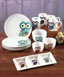 With The Owl Tabletop Collection Its Easy To Set A Stylish Table Each Piece DecorationsOwls DecorOwl Kitchen
