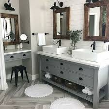55 Stunning Farmhouse Bathroom Mirror Design Ideas And Decor (45 ... The Mirror With Shelf Combo Sleek And Practical Design Ideas Black Framed Vanity New In This Master Bathroom Has Dual Mirrors Hgtv 27 For Small Unique Modern Designs Medicine Cabinets Lights Elegant Fascating Guest Luxury Hdware Shelves Expensive Tile How To Frame A Bathroom Mirrors Illuminated Lighted Bath Yliving 46 Popular For Any Model 55 Stunning Farmhouse Decor 16