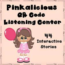 Pinkalicious QR Code Listening Center By Frick And Fracks Teaching