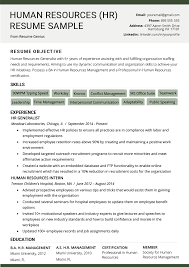 Human Resources (HR) Resume Sample & Writing Tips | RG