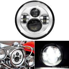 Harley Davidson Light Bulbs by 7 Inch Led Headlight For Harley Davidson Motorcycle Chrome