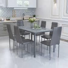 tisch stuhl sets mit glas fürs esszimmer günstig kaufen