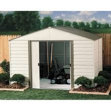 Suncast Tremont Shed 8 X 13 by Amazon Com Arrow Shed Vinyl Milford Shed 10 X 8 Ft Patio