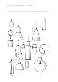 Design Concept Illustrations And Early Ideas For Lamp No 2 By Andrew Mitchell