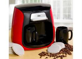 Little Red Coffeemaker Makes Tiny Cups Of Coffee If You Drink Lots Then Maybe The Elite Cuisine Isnt For