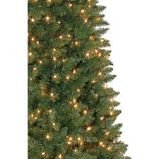 Slim Pre Lit Christmas Trees by Holiday Time Pre Lit 12 U0027 Brinkley Pine Artificial Christmas Tree
