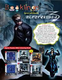 Krrish 3 Colouring Sheets KRRISH Catalogue And Covers By Nirbhay Kumar At Coroflot