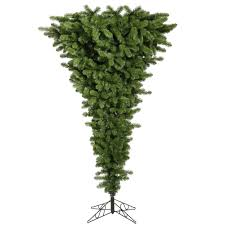 Unlit Christmas Tree by Artificial Christmas Trees Unlit Upside Down Christmas Trees