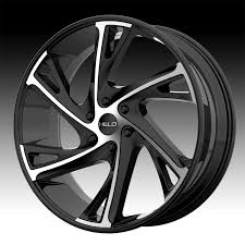 100 Helo Truck Wheels HE903 Machined Black Custom Rims Custom
