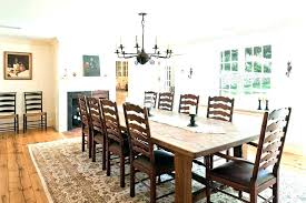 Rug Under Dining Table Room Size Area