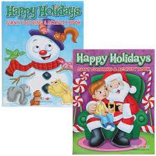 Bulk Christmas Jumbo Coloring Activity Book 144 Pages At DollarTree