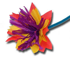 Paper Crafts For Children Easy Tissue Flowers