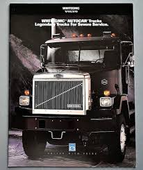 ORIGINAL 1994 WHITE/GMC AUTOCAR HEAVY DUTY TRUCK BROCHURE ~ 12 PAGES ... Autocar Trucks Velocity Truck Center Brandon Pritchett Director Of Fleet Sales Ready Built Terminal Tractors Refuse Garbage Welcome To Home Acx Xpeditor Labrie Automizer 2001pr Mondays 1949 Dc100 Semi American Industrial Models Im Liking 1968 Xspotter Actt42 Yard Spotter For Sale Classic Group On Twitter Its National Pet Day So We Combined