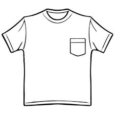 Shirt Clipart Black And White T Back Gallery For Work Pocket Clip Art Fashion Ideas