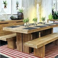 Dining Room Table With Bench Seat Tables Seats Lovable And