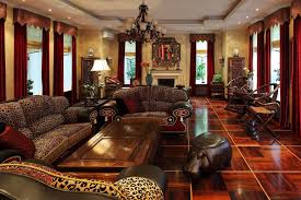 Cheetah Print Living Room Decor by Interior Lovely African Style Interior Living Room Ideas With