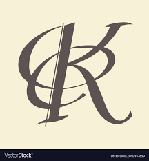 Letter K Royalty Free Vector Image VectorStock