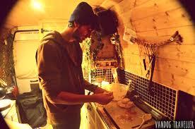 Living In Van Making Bread