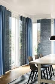 fönsterviva schiebegardine blau grau 60x300 cm ikea