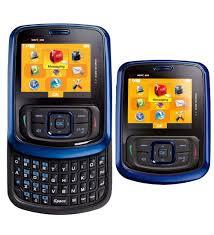 UTStar Blitz TXT8010 Basic Phone for Verizon PREPAID Blue