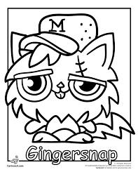 Ideas Collection Moshi Monster Coloring Sheet 2017 In Sheets