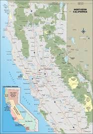 California Coast Cities Map Subway Road High Resolution