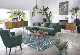 deko pflanzen kissen natur motiv baumwolle wendekissen grün