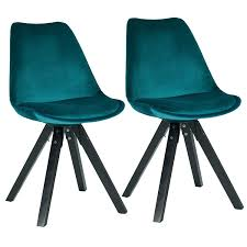 Duhome Dining Chairs Set Of 2 Cyan Blue Teal Fabric Cover Velvet Chairs  Retro Design With Wooden Legs Colour Selection 518EM Hester Blue Stackable Ding Chair 4 X Vinyl And Beech Mid Century Ding Chairs Vintro Hancock Alinum Retro Inoutdoor Rustic Chair Set Of 2 By Carabelle Velvet Swivel Modern Room Living Vintage Formica Table Fabfindsblog Hawley Quilted Dark Barker Stonehouse Upholstered Kitchen Wooden Legs Brookville Safavieh Giani Chairslate Gold Dch6201bset2 Fniture Cool Dinettes 1950s Style Cadian Made Chrome Sets