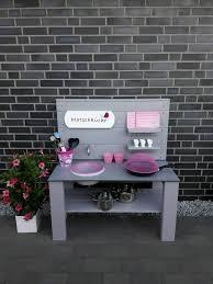 kinderküche matschküche selbstgebaut farbe wählbar in