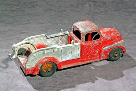 Old Antique Toys: Hubley Tow Trucks Or Wreckers Bargain Johns Antiques Blog Archive Buddy L Pressed Steel Antique Cast Iron Arcade Toy Intertional Dump Truck Ride Em For Sale Sold Fire Trucks For Sale Wen Mac Texaco Truck Speechless Sunday Garden Planters Vintage Diecast Metal Milk 1930s Stock Photo 3105894 Aerial Ladder Circa 261930 1937 Ford Pickup Red 124 Scale American Classic Diecast Image Free Space Toys Price Guide Information