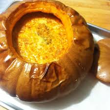 Pumpkin Soup Tureen And Bowls by Whole Pumpkin Kitchen Mischief