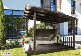 tonnelle aluminium et polycarbonate terrasse couverte 3 45 x 3 05