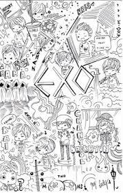 EXO Doodle By Erubiideviantart On DeviantART