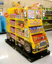 Seasame Street Display Snack Bus