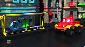 100 Truck Games Videos ABC Song Monster Dan Car S Learning By Kids Channel