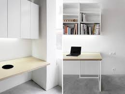 Simplistic Rectangular Laptop Office Desk Design With Wall Mounted ... Home Office Desk Fniture Designer Amaze Desks 13 Small Computer Modern Workstation Contemporary Table And Chairs Design Cool Simple Designs Offices In 30 Inspirational Elegant Architecture Large Interior Office Desk Stunning