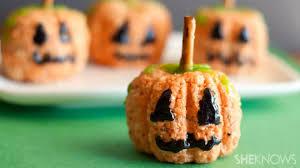 Pumpkin Shaped Cake Bundt Pan by Rice Krispies Pumpkins Are The Perfect Little Halloween Treat