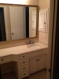 Small Bathroom Vanities With Makeup Area by Bathrooms Design Bathroom Vanity With Seating Area Makeup