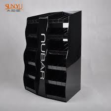 Black Acrylic Nail Polish Cosmetic Makeup Display