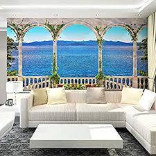 lhdlily großes wandbild wohnzimmer sofa 3d stereo tv