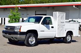 100 Utility Bed Truck For Sale 2005 Chevrolet Silverado 2500hd 4x4 Service Cab Work