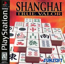SHANGHAI TRUE VALOR SONY PlayStation I PS1 Video Game SUNSOFT