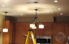 fluorescent kitchen light fixtures kitchen fluorescent light not