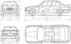100 E30 Truck BMW 3 Series Blueprint Download Free Blueprint For 3D Modeling