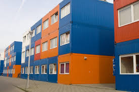 100 Containers Used As Homes The Uxbridge Shipping Container Hotel Gap Ltd