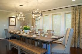Rustic Dining Room Ideas Glamorous Decor Contemporary Surprising Table