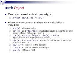 Javascript Math Ceil Floor by 5 Javascript Ppt Download