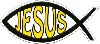 Jesus Fish Shape Magnet
