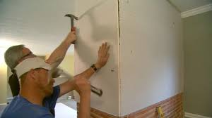 Hanging Drywall On Ceiling by How To Hang Drywall On A Brick Wall Today U0027s Homeowner